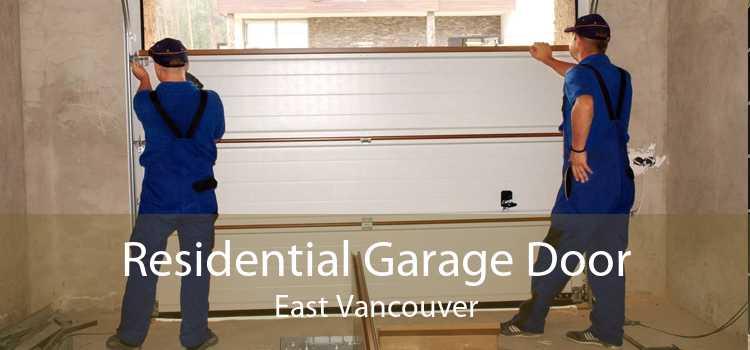 Residential Garage Door East Vancouver